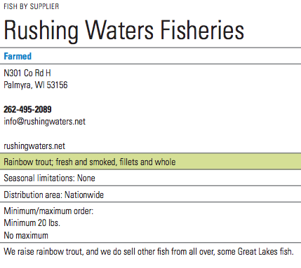 Rushing Water Info